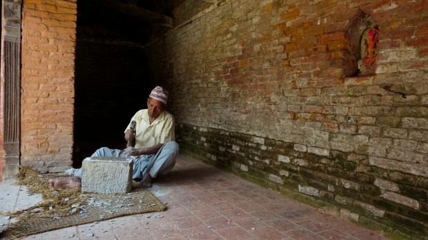 Changu - stonemason