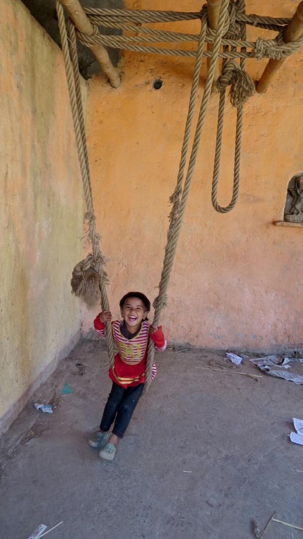 Changunarayan makeshift swing